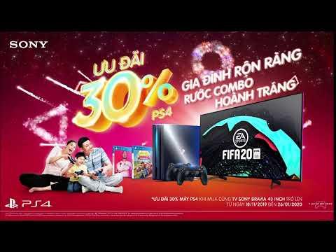 Ưu đãi 30% combo PS4 khi mua cùng TV Bravia