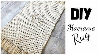 DIY Macrame Rug Tutorial