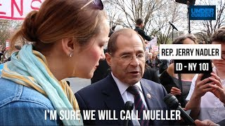Chairman Nadler Will Call Special Counsel Robert Mueller to Testify