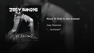 Rock 'N Roll Is the Answer