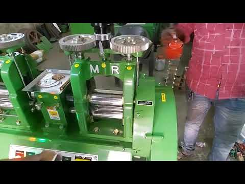 Dh6 Double Head Goldsmith Rolling Machine