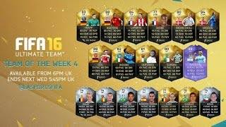 HOLY SHIT CRAZY INFORM  Fifa 16 Team Of The Week 4 Pack Openings