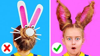 CUTE AND EASY HAIR IDEAS || Cool Hairstyles For Long Hair by 123Go! Play!