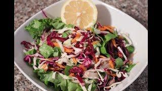 Быстрый салат/Рецепт красивого и вкусного салата к ужину