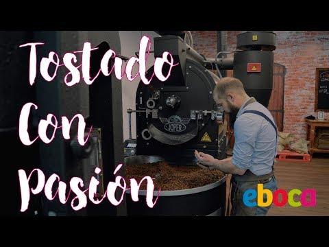 Café Premium de Colombia Eco en grano recién tostado Eboca