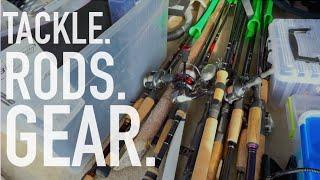 My Fishing Mobile & Tackle Organization -- VLOG #12