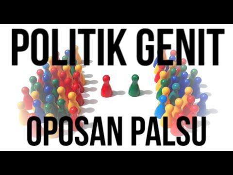 Politik Genit Oposan Palsu