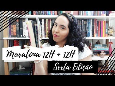 Vlog Maratona 12H +12H (6ª Edição) | Semana de Vídeo Todo Dia #5 | Um Livro e Só