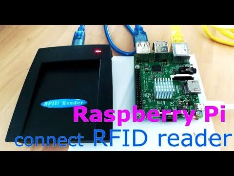 Raspberry Pi connect  USB RFID reader ( SL500L-USB )