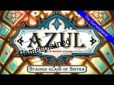 Azul Stained Glass of Sintra Gamesplained - Part 1