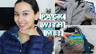 Pack With Me For Europe: Carry On ONLY!