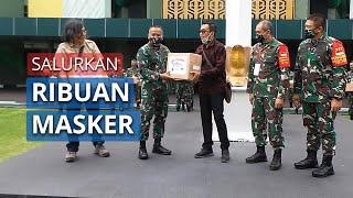 Tribunnews dan Cardinal Sukses Salurkan Ribuan Bantuan Masker ke Instansi Pemerintah dan LSM