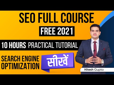 SEO Course for Beginners Hindi | Search Engine Optimization Tutorial | Advanced SEO Full Course FREE