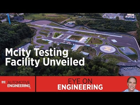 SAE Eye on Engineering: Mcity Testing Facility Unveiled