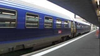 preview picture of video 'Téoz Eco Couchette Train Paris - Limoges - Toulouse'