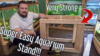 Easy DIY Aquarium Stand - Universal aquarium stand