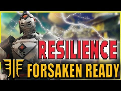RESILIENCE - WHAT YOU NEED TO SURVIVE (Destiny 2 - TTK Change)