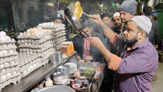 India's Fastest Omelet Making | Bread Cheese Omelette | Indian Street Food
