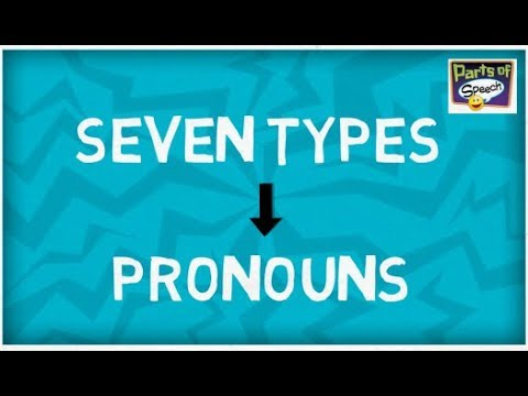 Download Seven Types of Pronouns | Parts of Speech Mp4 HD Video and MP3