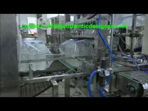 Automatic Web Sealer For Bottle With Automatic Collation
