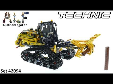 Vidéo LEGO Technic 42094 : La chargeuse sur chenilles