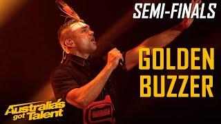 GOLDEN BUZZER - Mitch Tambo Makes AUSTRALIA PROUD   Semi Final   Australia's Got Talent 2019