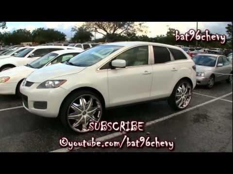 """Mazda CX7 on 26"""" DUB Doggy Style Wheels - 1080p HD"""