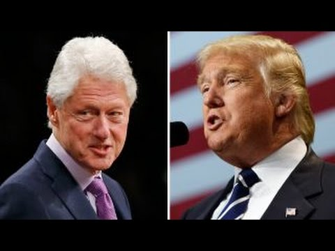 President-elect hits back at Bill Clinton in pair of tweets
