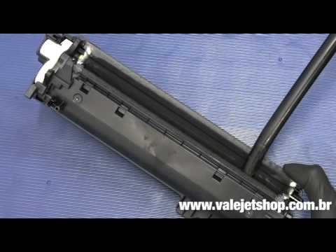 Vídeo Recarga Toner HP CE250A | CE251A | CE252A | CE253A - Vídeo Aula Valejet.com