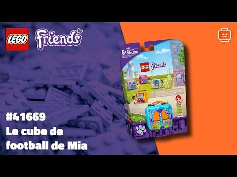 Vidéo LEGO Friends 41669 : Le cube de football de Mia