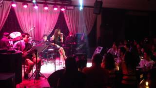 Angeline Quinto with 4Willdrive band @19 east  Sana Bukas pa ang kahapon original sound track