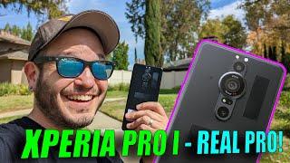 Sony Xperia Pro-I: A REAL Pro Camera Phone!