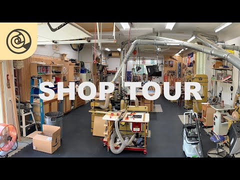 2019 Shop Tour - Layout, Tools, Organization, Tech, and Safety