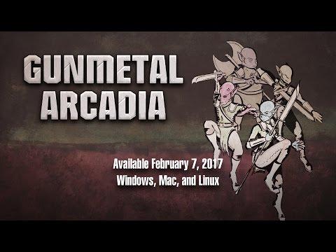 Gunmetal Arcadia - Launch Trailer thumbnail