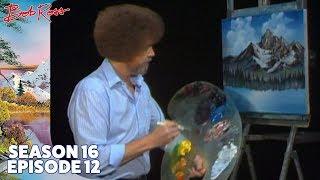 Bob Ross - Mighty Mountain Lake (Season 16 Episode 12)