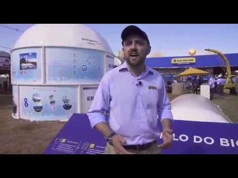 Tanque PRFV/Biodigeator Plus Sansuy e Microposto de Biometano