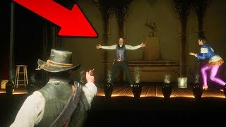 SHOOTING PERFORMER ON STAGE | RED DEAD REDEMPTION 2 OUTLAWS #10