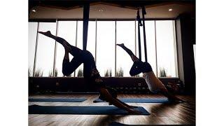 Bisa Dipelajari di Rumah, Ini Teknik Floating Yoga untuk Seimbangkan Kebugaran Fisik dan Batin