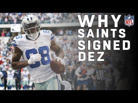 c718e7ec567 Why Did the Saints Sign Dez Bryant? | NFL News
