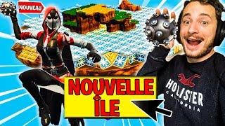 STADE PIQUANT XXL sur L'ÎLE VOLANTE sur FORTNITE BATTLE ROYALE !!!