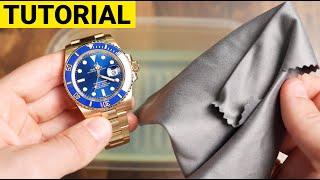 Eine Uhr richtig saubermachen | Luxus-Uhren Reinigung Tutorial