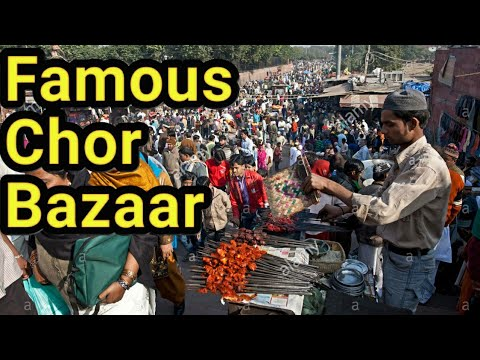 Chor Bazaar In Delhi || Buy Cheap Price Watch, Clothes, Shoes, Electronics, etc...