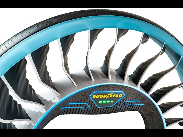 Goodyear Aero Concept Tire Shows How Flying Cars Could Work In The Future