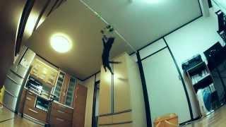Как Высоко прыгает Кот!