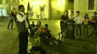 preview picture of video 'Guarda questo mago en Trastevere'