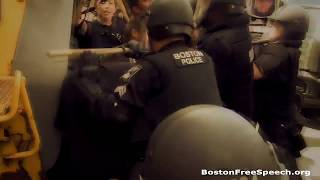 Boston Free Speech Rally, August 19th 2017.