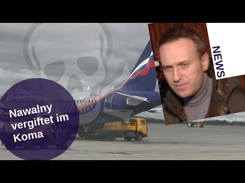 Nawalny vergiftet im Koma [Video]