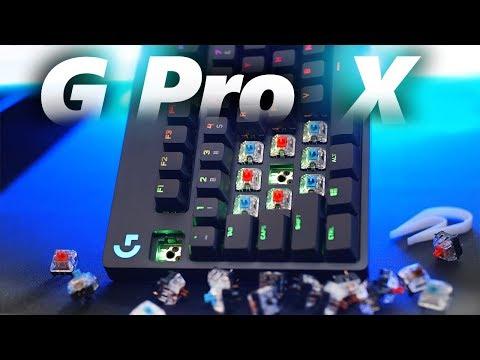 External Review Video 4vdE3ZadupA for Logitech G PRO X Tenkeyless Mechanical Gaming Keyboard