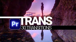 TRANS - 30 Premiere Pro Transitions