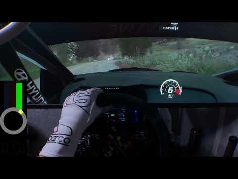 WRC 8 - ADAC Rally Deutschland: Freisen reverse - 3:45.821 [Onboard + Replay] [PC HD]